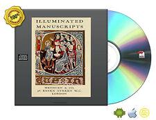 Illuminated manuscripts CS ornaments Floral Tehnique Arts Collection Book On CD