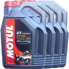 Motul 7100 10W40 4T 4L Aceite de Motor Sintético (104092)