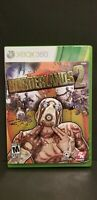 Borderlands 2 XBOX 360 Shooter (Video Game)-Complete game disc, manual and case