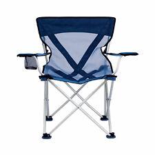New listing TravelChair 579V Teddy Folding Portable Camping Hunting Nylon Mesh Chair, Blue