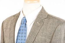 J CREW Ludlow Blazer 40 R Ludlow Cream Black Herringbone Italian Wool Sport Coat