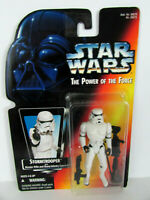 Kenner Star Wars Power of the Force Stormtrooper Action Figure on Red Card 1995