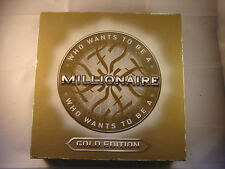 'WHO WANTS TO BE A MILLIONAIRE' GOLD EDITION Complete but without instructions