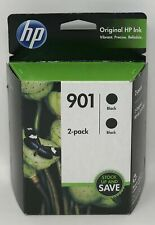 HP 901 / BLACK Ink Cartridges 2 PACK / NEW IN BOX