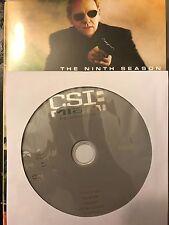 CSI: Miami - Season 9, Disc 1 REPLACEMENT DISC (not full season)