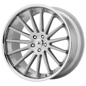"Asanti ABL-24 Beta 22x10.5 5x120 +35mm Brushed/SSL Wheel Rim 22"" Inch"