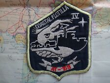 US Navy COASTAL FLOTILLA IV AT-159 Vietnam War Patch