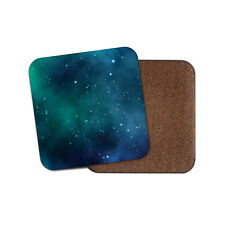 Solar System Coaster - Nebula Galaxy Space Blue Stars Sky Cool Fun Gift #8707