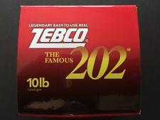 Zebco 202 Spincast Reel, Prespooled 10# Line