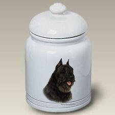 Bouvier des Flandres Black Treat Jar