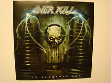Overkill – The Electric Age LP VINYL BLUE