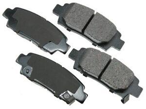 For Toyota Avalon 1995-1999 Rear Ceramic Disc Brake Pads Akebono ProACT ACT672