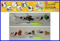 Bandai Set 6 Figure Nintendogs Nintendo Dogs Part 4 Strap Swing Dangler Rare