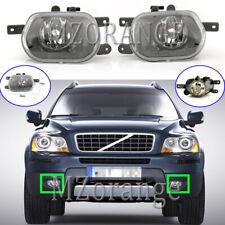 Left & Right Side Front Bumper Fog Light Lamp Cover For VOLVO XC90 275 2002-2013