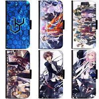 PIN-1 Anime Guilty Crown GC Flip Case Téléphone étui Housse Pour Huawei