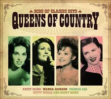 QUEENS OF COUNTRY feat. Kitty Wells, Patsy Cline, Wanda Jackson u.a. 2 CD NEUF