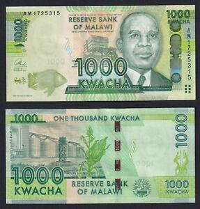 Malawi 1000 kwacha 2013 SUP/AU  A-05