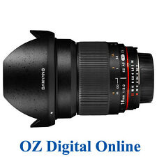 New Samyang 16mm f/2.0 ED AS UMC CS for Nikon 1 Yr Au Wty