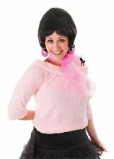 POODLE SCARF, CHIFFON PINK LADY FANCY DRESS ACCESSORY, GREASE, 1950s ROCK N ROLL