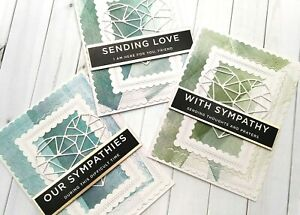 Handmade Greeting Card With Sympathy Condolences Support Sending Love A2 Size