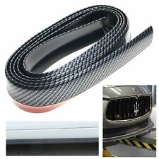 2.5M Car Front Bumper Lip Skirt Protector Splitter Body Spoiler Carbon Fiber AU