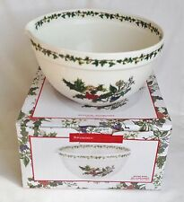 NEW Portmeirion The Holly and The Ivy Mixing Bowl & Pourer 9 inch - BOXED