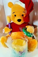 Disney Winnie The Pooh Animated and Illuminated Christmas Display Figure Vintage