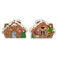 MP Studia Counted Cross Stitch Kit - Gingerbread House decoration  - Plastic Can