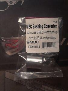 Mec Powder Bushing Converter for Pw Rcbs an Hornady