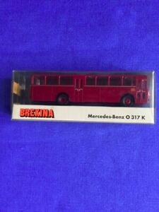Brekina 1/87 bus mercedes benz o 317 k con scatola da collezione e per plastici