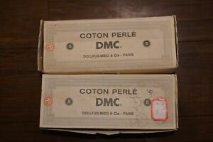 Lot of 14 Vintage DMC Cotton Perle Size 5 Very Light Pearl Gray 644 10 Grams 48m