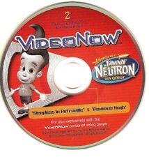"""Jimmy Neutron , two episodes"" (3"" B&W PVD for VideoNow players)"