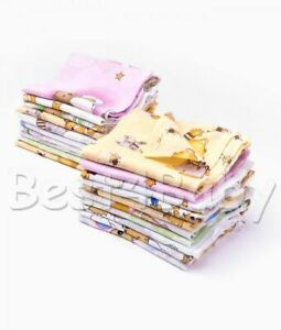 COLORFUL BABY REUSABLE WIPES NAPPY BIBS DIAPER 60x80- Tetra