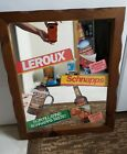 Leroux Schnapps BAR/ADVERTISING MIRROR/sign;LIQUOR