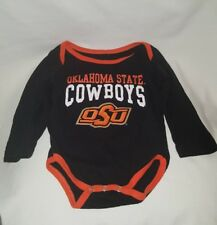 Oklahoma State Cowboys Baby One Piece Outfit 3-6 months