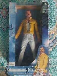 """QUEEN Freddie Mercury 18"""" 18-inch Figure with Sound NECA 2006"""