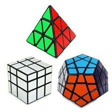 Pyraminx Cube de Rubix Magic Cube Set (3-Pc)Jeux éducatif d'adulte enfant cadeau