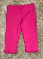 Women's Fabletics Cropped Leggings Hot Pink Sz S