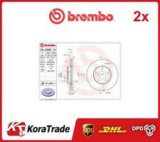 2x 09936811 BREMBO OE QUALITY BRAKE DISC SET