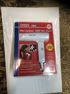 Travel Smart Mini Cyclone 2000 Travel Blow Hair Dryer by Franzus Compact