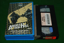 ANGELS FROM HELL tom stern rare biker   VIDEO VHS video  label deleted video