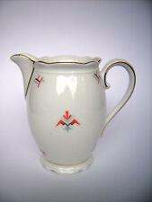 Kaiser`s Kaffee Geschirr Sahnegiesser Milchkännchen Bavaria Spritzdekor Art Deco