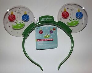 NWT Toy Story Holiday Themed Light-Up Glow Ears - WDW Parks Exclusive