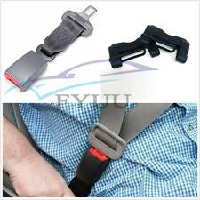 "2 Set 9''/23cm Car Adjustable Seat Belt Seatbelt Extension 7/8"" Buckle w/Covers"