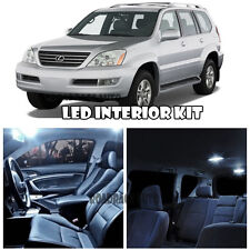 For 03-09 Lexus GX470 SUV WHITE Full Xenon Interior LED Light Bulb Kit