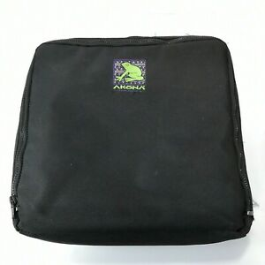 "Akona Padded Zipper Scuba Dive Regulator Carry Gear Bag Nylon 12"" x 12"" Case"