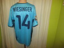 """TSV 1860 München Nike Matchworn Trikot 2000/01 """"FTI"""" + Nr.14 Wiesinger Gr.L"""