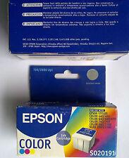 ORIGINALE Epson s020191 Stylus COLOR 440/460/640/660/670/740/760/860/1160 SCAN