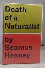 1st/4th Death of a Naturalist – Seamus Heaney 1970 Faber HCDJ First Book