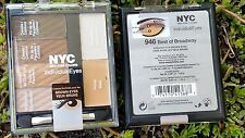 2 NYC INDIVIDUAL EYES EYE SHADOW QUADS PRIMER & ILLUMINATOR 946 BEST OF BROADWAY